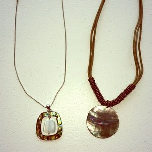 2 lia Sophia necklaces